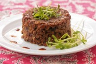 lentil quinoa timbales