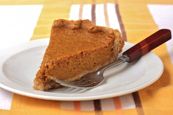Healthy Thanksgiving recipe - Low Fat Pumpkin Pie | What Would Cathy ...