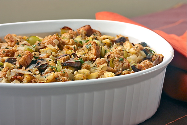 Healthy Thanksgiving Recipe: Chestnut Mushroom Stuffing ...
