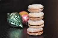 Linzer Macaroon Cookies