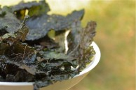Spicy Kale Chips: Super Bowl-ready!