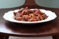 Heirloom bean and mushrooms stew