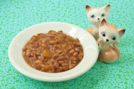 Vegan Mango BBQ beans
