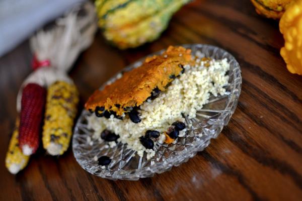 Black bean millet sweet potato casserole