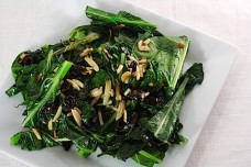 Collard Greens With Almonds from Savvy Eats