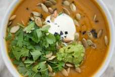 Pumpkin Bisque from Eat Well, Live Free