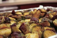 Roasted Brussels Sprouts from Steph Chows