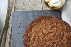 Vegan apple pear pie from What's Cooking Good Looking