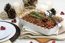 Sweet Potato Casserole Gratin Style from The Healthy Foodie