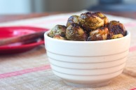 Brussels sprouts with sherry-maple vinaigrette