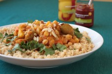 Moroccan Chickpea and Vegetable Stew