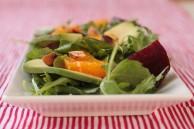 arugula beet avocado salad
