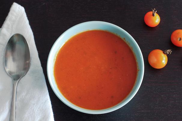 Roasted Fresh Tomato Soup