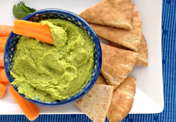 things to eat with hummus