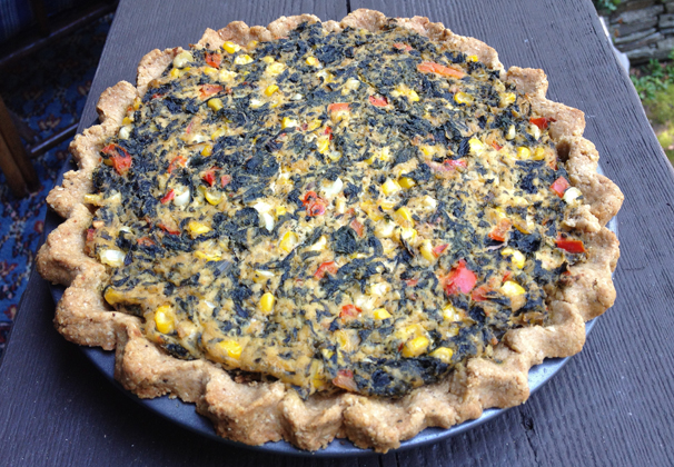... or savoury swiss chard tart swiss chard quiche swiss chard spinach pie