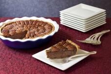 Chocolate Bourbon Pecan Pie from Recipe Renovator