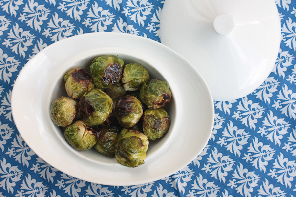 Lime brussels sprouts