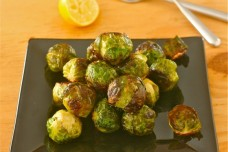 Roasted Brussels Sprouts from Liz the Chef