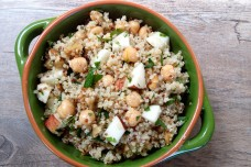 My Warm Quinoa Salad With Apples and Chickpeas