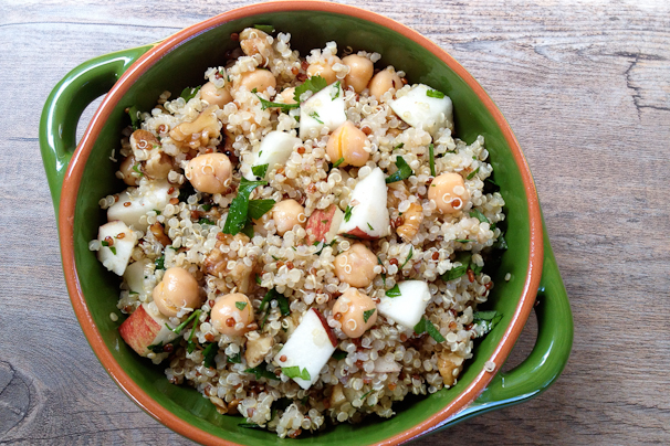 Quinoa apple salad 2