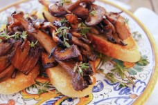 Wild Mushroom Croustades from Cooking on the Weekends