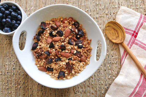 Simple Heart-Healthy Granola - Vegan and Gluten-Free | What Would ...