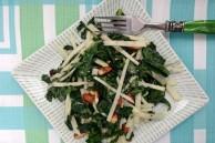 Kale kohlrabi salad