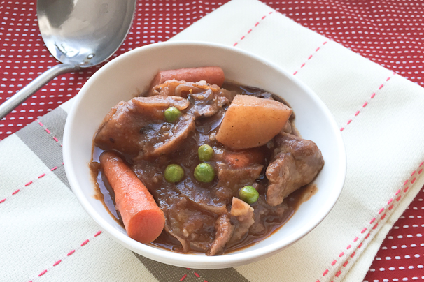 Vegan beef stew 3